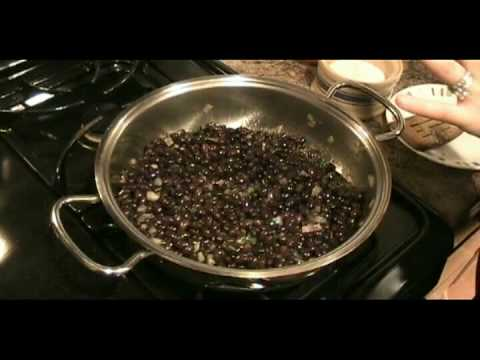 "Spicy Black Beans Recipe - Laura Vitale ""Laura In The Kitchen"" Episode 14"