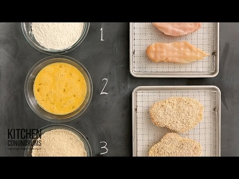 The Standard Breading Process in 3 Easy Steps - Kitchen Conundrums with Thomas Joseph