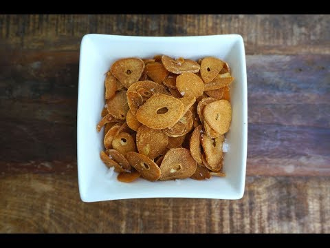How To Make Crispy Garlic Chips- (Episode 9~Garden to Table) BONUS Garlic Fried Rice