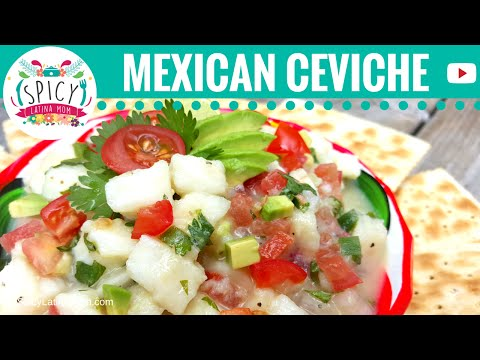 How to make CEVICHE | Mexican Food - Spicy Latina Mom
