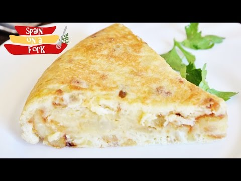 How to make Tortilla Española - Spanish Potato Omelette Recipe