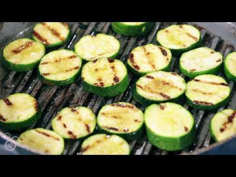 Mediterranean Grilled Zucchini Salad | The Mediterranean Dish