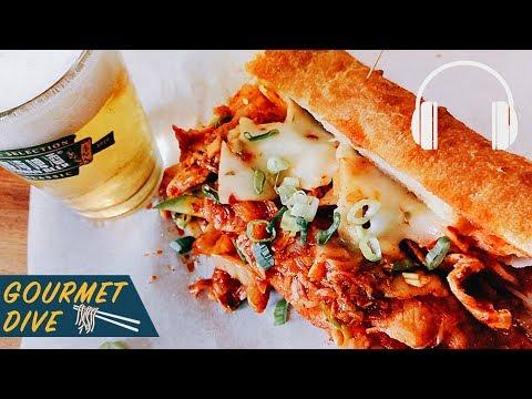 泡菜豬肉三明治/ Kimchi Pork Sandwich /豚キムチサンド | The Sound Of Food