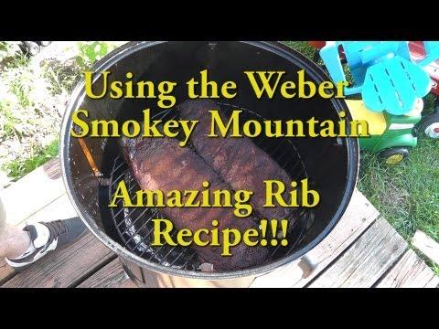 Using the Weber Smokey Mountain - Amazing Ribs!