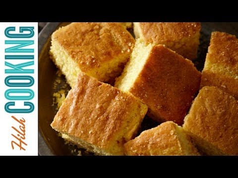 How To Make Cornbread - Southern Cornbread Recipe | Hilah Cooking