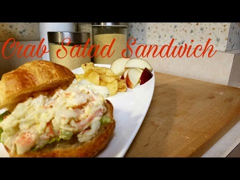 Crab Salad Sandwich|The Cooking Corner