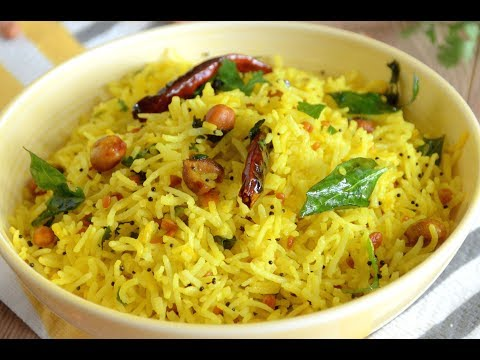 Lemon Rice | Quick Lunch | Easy Lunch Box Recipe