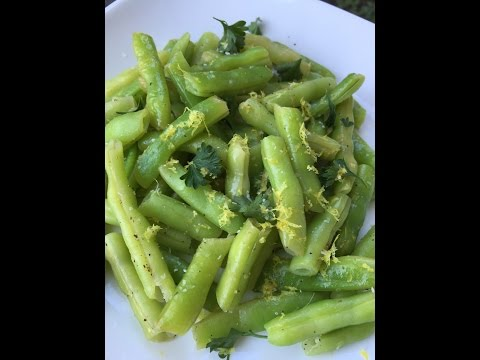 Sauteed Green Beans, Lemon Butter Green Beans, How to Cook Green Beans