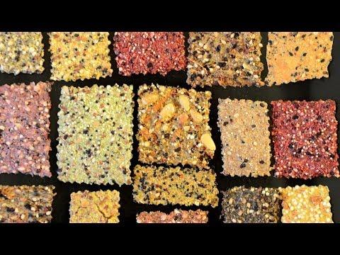 DIY Whole Grain Crackers – Easy, quick, healthy, & delicious
