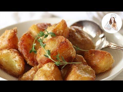 Roast Potatoes Recipe | Perfect Crispy Roast Potatoes