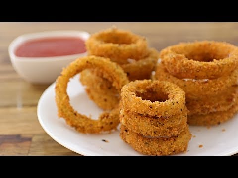 Onion Rings Recipe | How to Make Crispy Onion Rings