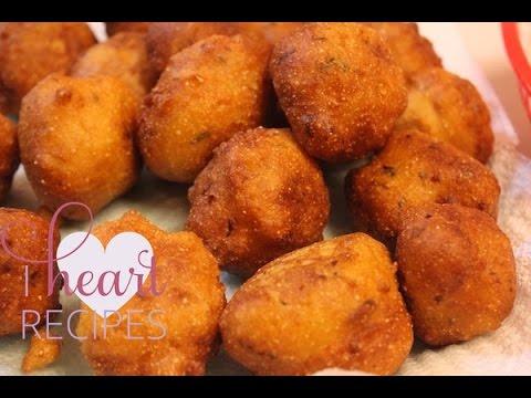 Homemade Southern Hush Puppies Recipe - I Heart Recipes