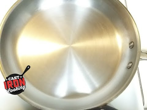 How To Season A Stainless Steel Pan Advanced Version
