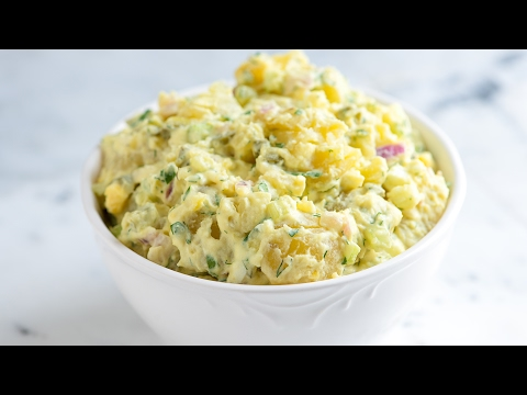 Easy Creamy Potato Salad Recipe with Tips - How to Make the Best Potato Salad