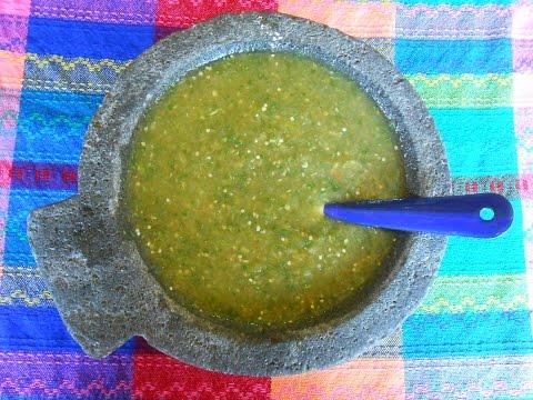 Mexican Salsa Verde. Tomatillo Green Salsa - Salsa Verde