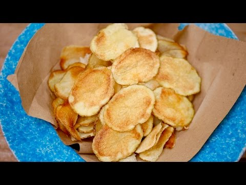 Crispy MICROWAVE POTATO CHIPS (w/Ranch & BBQ Flavors!) Gemma's Bigger Bolder Baking Ep 155