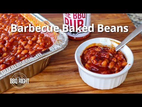 Barbecue Baked Beans Smoked on the Pit | HowToBBQRight