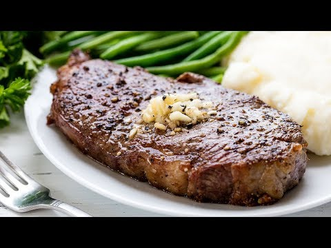 How to Cook Steak Perfectly Every Time | The Stay At Home Chef