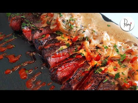 [ENG] Beef Steak topped with Special Kimchi & Mushroom Sauce / 레미의맛 RemyKitchen