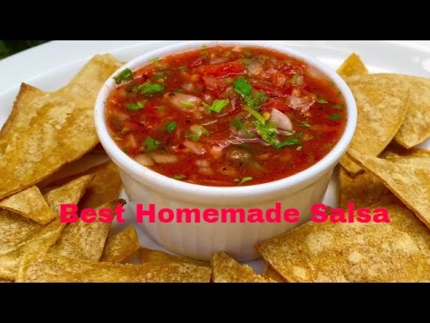 The Best Homemade Salsa Ever