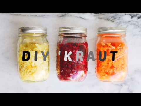HOW TO MAKE SAUERKRAUT AT HOME // DIY Easy Recipe
