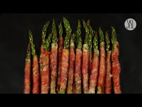 1 Minute Recipe | Prosciutto Wrapped Asparagus