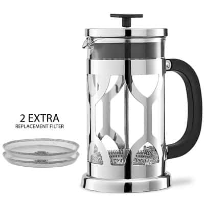 4. Chef's Star French Press Coffee Maker