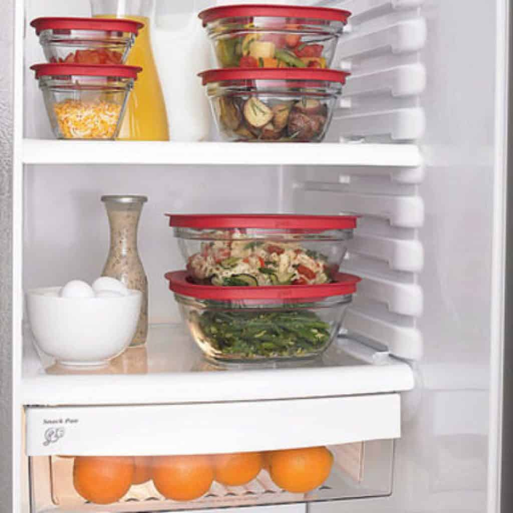 keep food sealed in the fridge