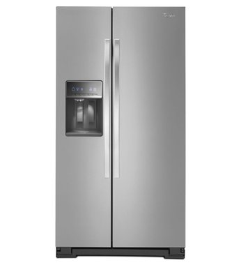 9. Whirlpool Side-by-Side Refrigerator