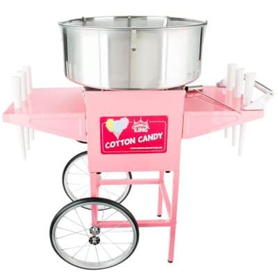 mobile cotton candy machine