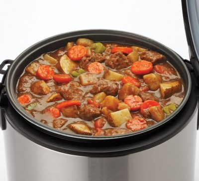 stew in rice cooker