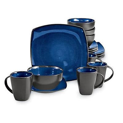 7. The Gibson Home Dinnerware Set