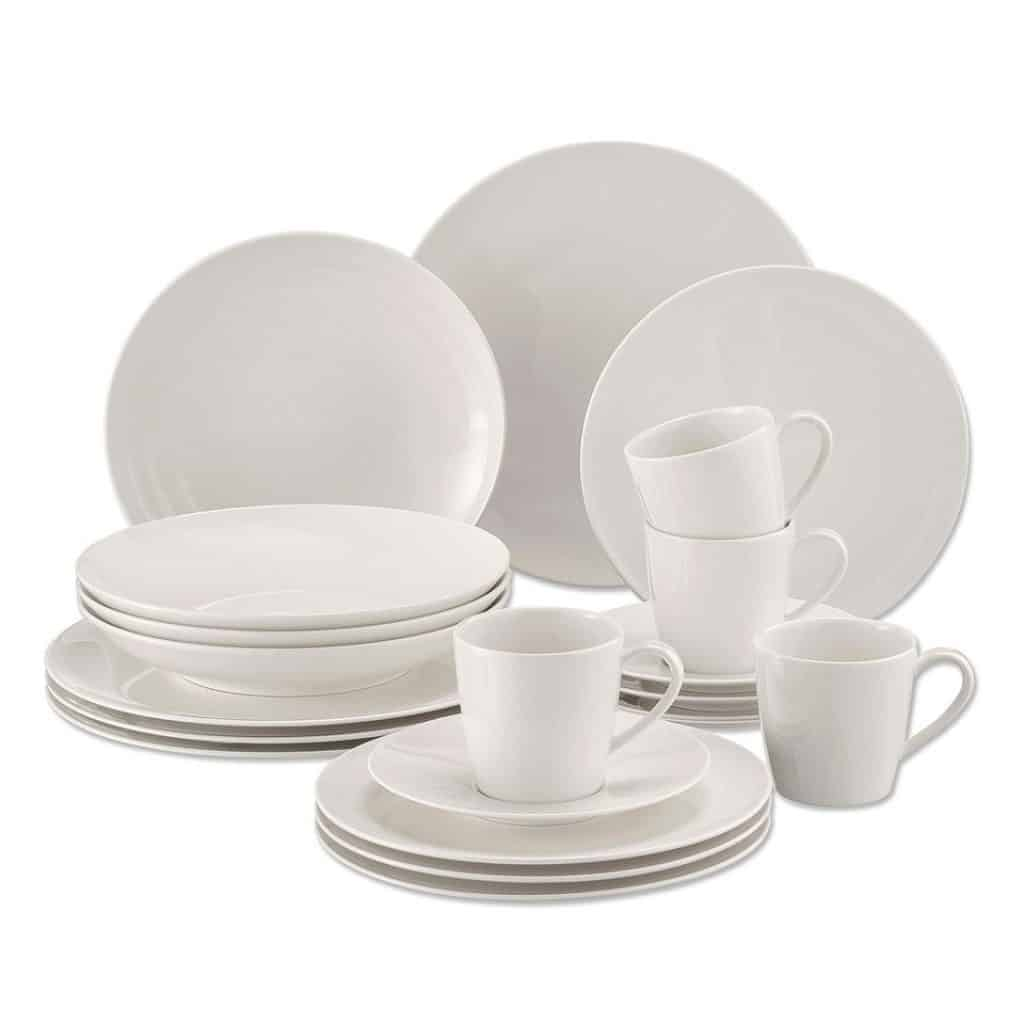 If you want to entertain a larger group it\u0027s a good idea to get a few more plates than you think you\u0027ll need because accidents do happen.  sc 1 st  Janes Kitchen Miracles & Best Plate Sets Reviewed and Compared in 2018 | JanesKitchenMiracles