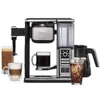 Ninja Coffee Bar Glass Carafe System Cappuccino Maker