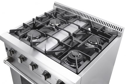 Example of the best gas stove top with four burners