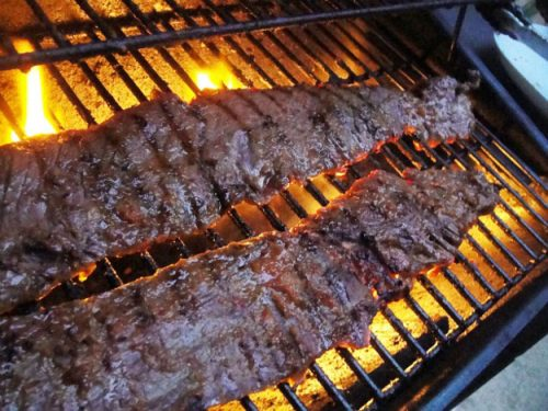 skirt steak grilled