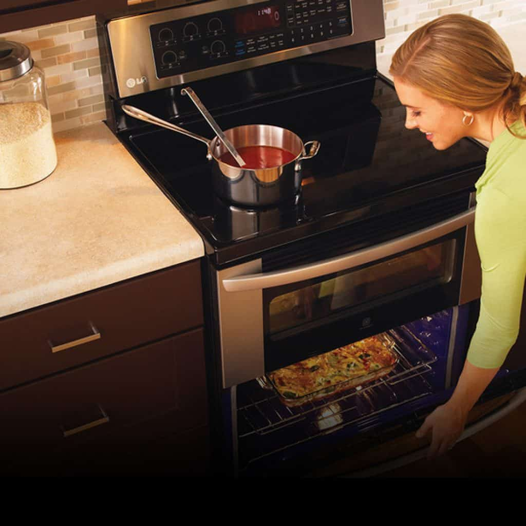 using a gas oven