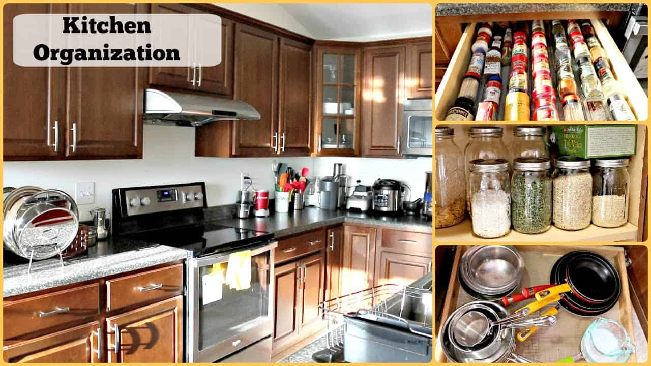Best Way To Organize Your Kitchen Cupboards