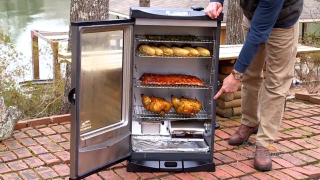 using an electric smoker