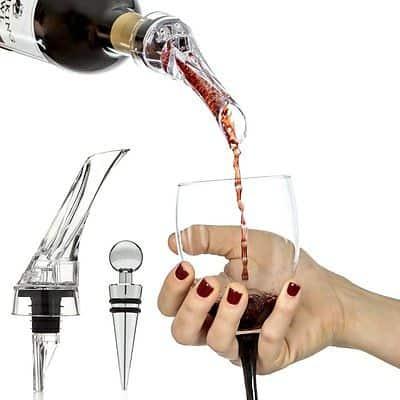 9. Vinomaster Red Wine Aerator