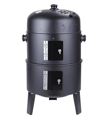 10. Patio Smoker Grill BBQ Backyard Firepit