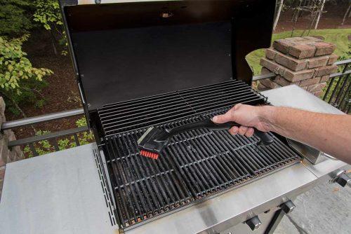 scrub grill grates