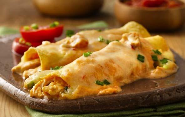Shredded chicken recipe for enchiladas