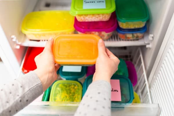 Storing freezer meals from instant pot