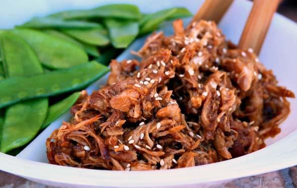 Honey and Garlic Shredded Chicken Recipe