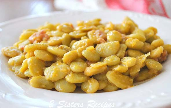 Buttered Beans