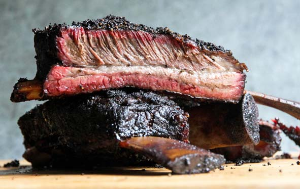 Smoking Beef Ribs