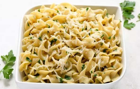 Egg Noodles Side Dish