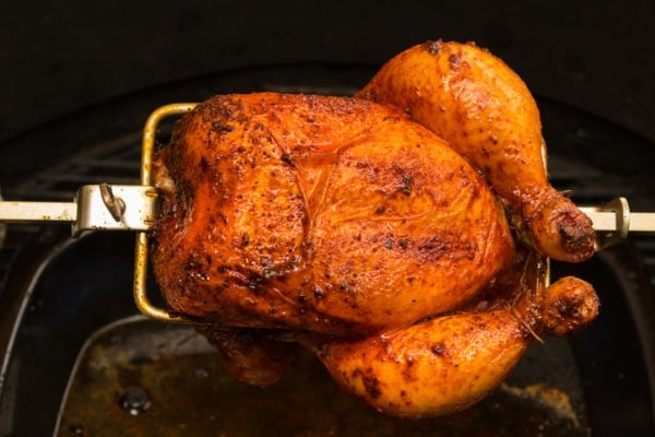 Smoked Rotisserie Chicken