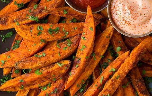 Pot Roast Side of Sweet Potato Fries